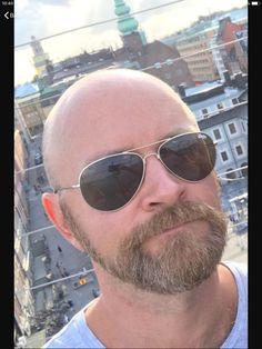 Bald With Beard, Red Beard, Bald Men, Beard Head, Male Pattern Baldness, Silver Foxes, Beard Lover, Hair Raising, Beard No Mustache