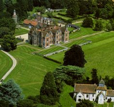 """Breamore House, Fordingbridge, Hampshire, England (used in the film, """"Florence Nightingale"""" with Jaclyn Smith)"""