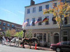 Downtown Fredericksburg Virginia