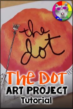 """The Dot Art Project. This is a wonderful, free art lesson not only to do for """"Dot Day"""", but you can do it as a Back to School Activity and Growth Mindset activity as well.This is a fun activity that transforms a bulletin board quickly. Back To School Art, Middle School Art Projects, Primary School Art, Secondary Teacher, Color Art Lessons, Art Lessons For Kids, Kindergarten Art Lessons, Art Lessons Elementary, Elementary Teaching"""