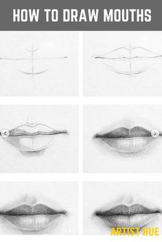 Drawing Tutorials For Beginners, Pencil Drawing Tutorials, Pencil Art Drawings, Realistic Drawings, Art Drawings Sketches, Cool Drawings, Art Illustrations, Eye Drawings, Realistic Eye