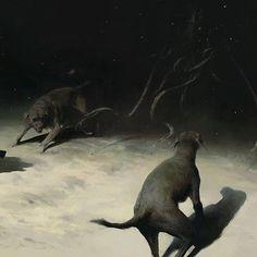 Arte Horror, Horror Art, Mountains Of Madness, Dark Drawings, Realistic Paintings, Illustrations, Animal Paintings, Dark Art, Traditional Art