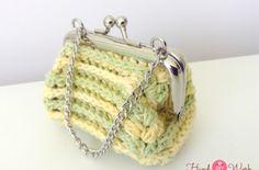 como hacer un monedero a crochet