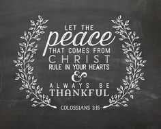 Colossians 3:15 Printable