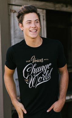 Your voice CAN change the world! Purchase this #Sevenly tee and $7 of your purchase will go back to a featured charity.