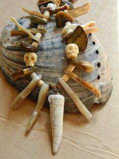 Voodoo Priest/Priestess Witch Doctor Bone by MinusTideJewelry