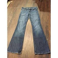 7 for All Mankind Jeans 7 For All Mankind Jeans Size 25. They are too long and big on me.  On the bottom Jean shows the worn out part. Other than that it's in good pre-loved condition. Reposhing and would like to make back what I paid for. Thanks for looking. 7 for all Mankind Jeans