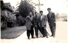 Clanton 14th Street (1930's) in Los Angeles, California