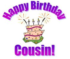 Happy Birthday Cousin Male Verses Quotes To