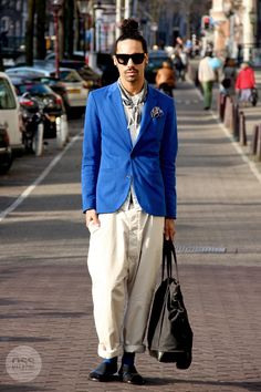 Streetstyle from Amsterdam, by Rasa Stankeviciute of