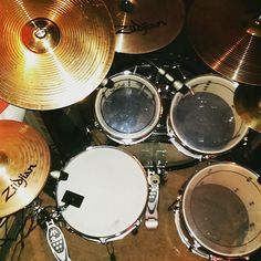 I always wanted a drum kit... but I settled for a guitar instead.. and I'm so glad now, because a guitar is much easier to carry around and much quieter to practice with.. :-)