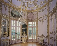 The Palm Room of Schloss Solitude in Stuttgart, Germany Architect: Philippe de la Guêpière