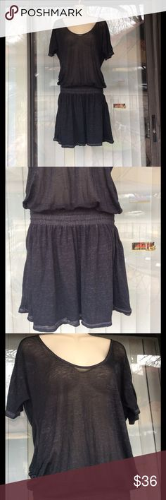 Athleta vary soft casual dress Elastic on vast ,upper part sheer,few snags around but still in good condition Athleta Dresses
