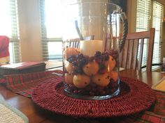 Love oranges cloves and cranberries