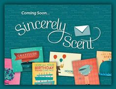 Sincerely Scent by Scentsy   Great Cards at a great price! Ask me how to order them today!