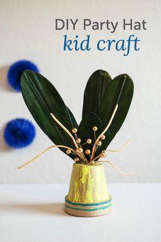 DIY party hat craft