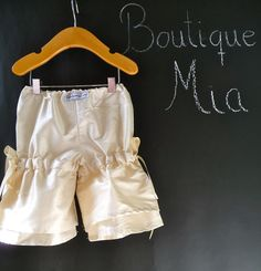 Vintage Style Pants - Raw Silk - 2 Years of Fashion