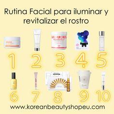 Set de productos con los que conseguirás un aspecto más saludable y ese efecto glow que tanto nos gusta. Solo disponible @ koreanbeautyshopeu.com pd. Todas las rutinas además llevan un 10% de descuento aplicado