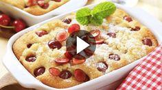 Ingrédients:  - 350 g de cerises - 4 oeufs - 125 g de sucre semoule - 80 g de farine - 80 g de beurre - 25 cl de lait - du sucre vanillé - du sel  Préparation...