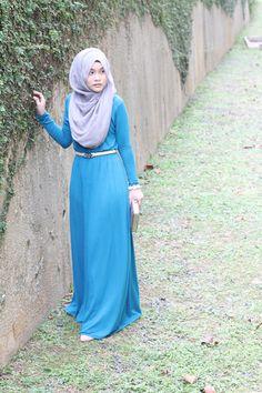 Pinned via Nuriyah O. Martinez | Street hijab fashion