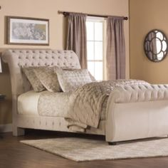 Upholstered Beds Queen Upholstered Sleigh Bed by Liberty Furniture