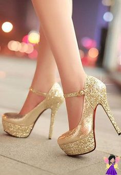 Cheap shoes eco, Buy Quality shoes flats directly from China shoe boxes for boots Suppliers: 2013 Fashion Sapatos Platform Shoes Red Bottom High Heels Paillette Women's Pumps Sexy Elegant Wedding Shoes Woman Prom Heels, Sexy Heels, Pumps Heels, Stiletto Heels, Gold Pumps, Thick Heels, Gold High Heels, Chunky Heels, Girls Shoes
