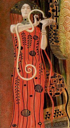 Card - The Magician - The Golden Tarot of Klimt by Atanas Alexander Atanssov Gustav Klimt (July 1862 – February was an Austrian symbolist painter and one of the most prominent members of the Vienna Secession movement. Klimt is noted for his paintings…] Gustav Klimt, Klimt Art, Art Nouveau, Henri De Toulouse Lautrec, Art Romantique, Le Bateleur, The Magician Tarot, Alchemy Art, Tarot Major Arcana