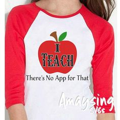 SVG - I Teach theres no app for that - Instant Download Great SVG for Teacher gifts. Create, Mugs, auto decals, bags, tshirts, cards and so much more.  Need a Teach SVG ? http://etsy.me/2xzRPTr  This is not a physical item. This is a Digital Product.  This Listing includes: 1 SVG ONLY  For use with Cricut Explore and Silhouette cutting machines  Perfect for vinyl projects  When you post a product you create with one of our designs Please hashtag #amaysingsvgs so we can share it...