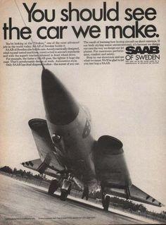 Saab of Sweden Draken Jet (1969)