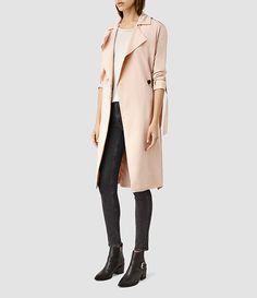 AllSaints New Arrivals: Emil Mac Coat