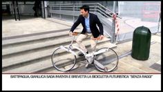 Bicicleta dobráveis de Gianluca Sada.