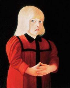 Csontváry Kosztka Tivadar: Piros ruhás gyermek Post Impressionism, Art School, Mona Lisa, It Works, Canvas, Artwork, Paintings, Art Work, Work Of Art