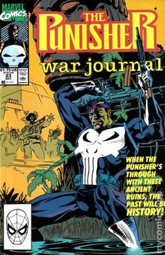 Punisher War Journal (1988 1st Series) 23  Marvel Comics Modern Age Comic book covers