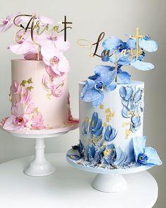 Elegant Birthday Cakes, Cute Birthday Cakes, Beautiful Birthday Cakes, Creative Cake Decorating, Cake Decorating Techniques, Creative Cakes, Beautiful Cake Designs, Beautiful Cakes, Pretty Cakes