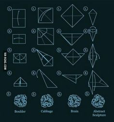 How to do origami XD