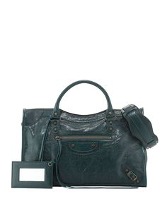 Balenciaga Classic City Lambskin Tote Bag 9612526c08da6