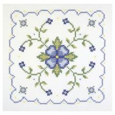 @Overstock - JANLYNN-Stamped Cross Stitch.  Make beautiful quilts with Janlynn's kits.  This kit contains six pre-printed 18x18in poly/cotton broadcloth quilt blocks; graph; needle and floss requirements (floss is not included).  Design: Blue and Yellow Geometric.http://www.overstock.com/Crafts-Sewing/Blue-And-Yellow-Geometric-Quilt-Blocks-Stamped-Cross-Stitch/6770650/product.html?CID=214117 $9.89