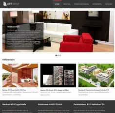 This is the homepage from Art Group GmbH.