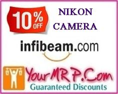 infibeam logo3 Extra 10% Off On NIKON Camera