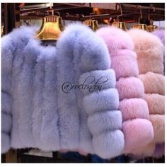 Pastel Faux Fur - Love the pink and purple - Mirella Daphne Blake, Fur Fashion, Winter Fashion, Fashion Outfits, Chanel Oberlin, Chanel Outfit, Girly, Faux Fur Jacket, Faux Fur Coats