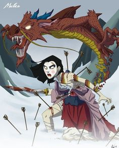 Disney Twisted  Mulan