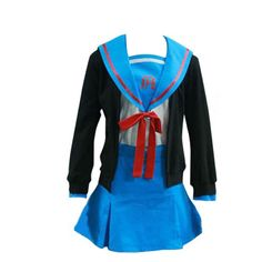 Haruhi Suzumiya Cosplay Costume - Nagato Yuki 1st X-Small * You can find more details by visiting the image link.
