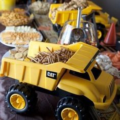 Digger birthday party ideas
