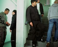 """Le Couloir"", Mohamed Bourouissa, 2007"