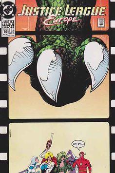 Justice League Europe Very Fine/Near Mint #14 Best Comic Books, Comic Books Art, Comic Art, The New Teen Titans, Comic Book Publishers, Solomon Grundy, Europe, American Comics, Comic Book Covers