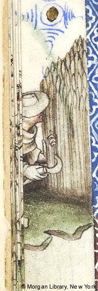 Book of Hours, MS M.866 fol. 8v - Images from Medieval and Renaissance Manuscripts - The Morgan Library & Museum