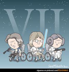 Star Wars VII, la artrosis contraataca.