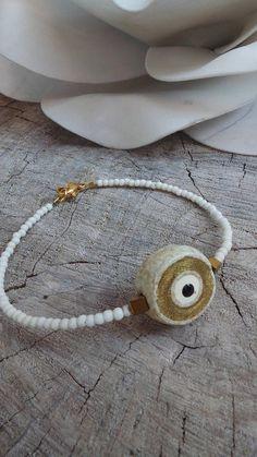 Evil eye bracelet. Greek evil eye bracelet.Beaded evil eye bracelet. Ceramic evil eye  bracelet.Macrame bracelet. Gemstone evil eye bracelet