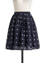 Give It Your Best Dot Skirt | Mod Retro Vintage Skirts | ModCloth.com