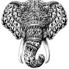 166 Best Mandala Elephant Tattoo Images Elephant Art Elephant